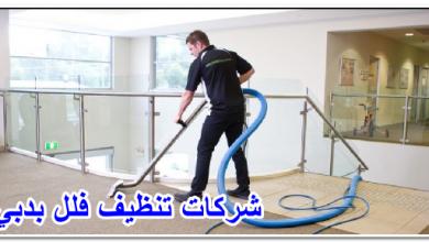 شركات تنظيف فلل بدبي