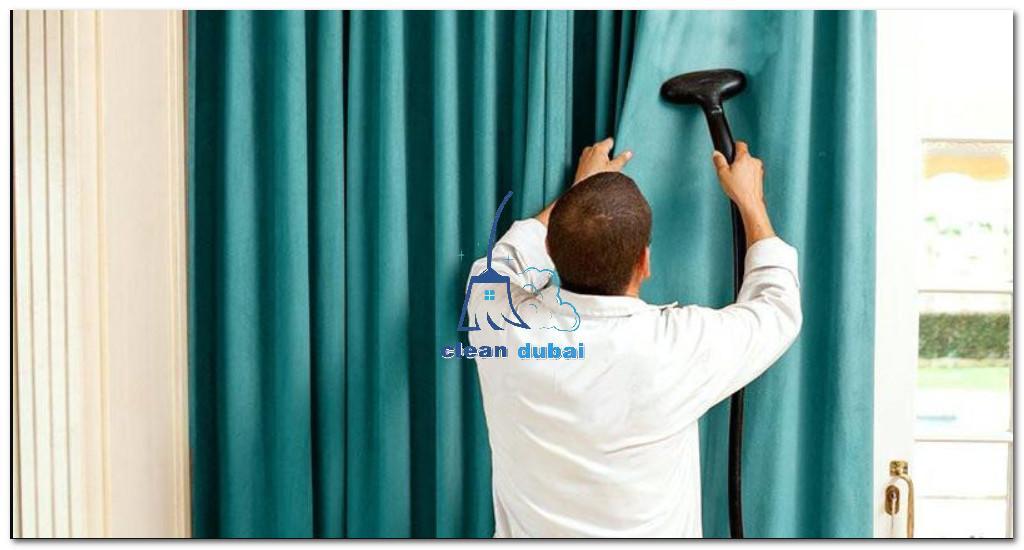شركة تنظيف ستائر بالبخار في دبي