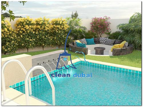 تنظيف المسابح و الحدائق في ابوظبي