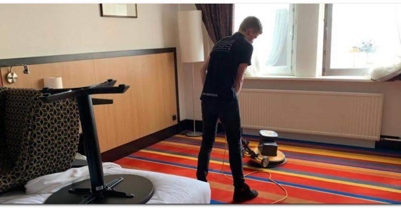 شركة تنظيف فنادق